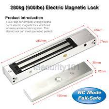diy access control rfid kit electric magnetic door lock nc fail safe