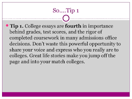 telling your story ten tips for writing powerful college essays special skills talents and passions 4