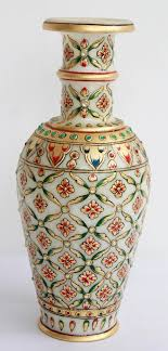 well suited decorative items for home marble vases gold painted