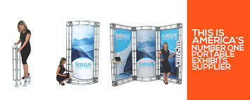 Portable Display Stands For Exhibitions Classy Exhibition Display And Portable Exhibits