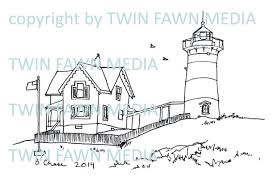 Small Picture MAINE LIGHTHOUSE COLLECTION 5 five coloring pages