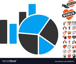 Charts Icon With Lovely Bonus