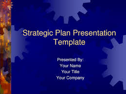 Planning A Presentation Template Strategic Plan Powerpoint Templates Business Plan