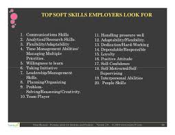 ... 44. TOP SOFT SKILLS EMPLOYERS LOOK ...