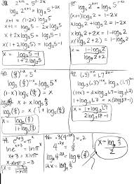 beauteous logarithms homework help ssays for solving exponential equations worksheet with answers key solving log