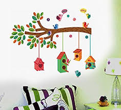 Small Picture Buy Decals Design Bird House on a Branch Wall Sticker PVC