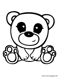 Small Picture Squinkies Cute Teddy Bear Coloring Pages Printable