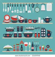20 best kitchen vector design images on Pinterest Vector design