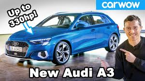 The new <b>Audi A3</b> is the most luxurious small car EVER! - YouTube