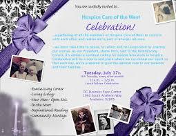 celebration invite first celebration invite our life celebrations
