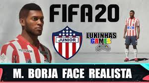 FIFA 20 - MIGUEL BORJA - JUNIOR BARRANQUILA / FACE REALISTA / LOOK ALIKE /  HOW TO MAKE / PRO CLUBS - YouTube