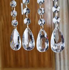 hanging crystals for wedding centerpieces. amazon.com: acrylic crystal bead hanging strand manzanita trees wedding centerpiece decor 12pcs: home \u0026 kitchen crystals for centerpieces
