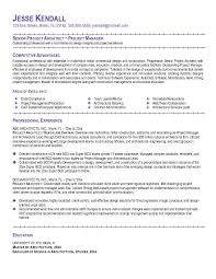 Architectural Resume Examples 69 Images Enterprise Architect