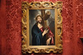 christ carrying the cross el greco by artexplorer