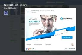 Ad Page Templates Ad Templates Business Template Large Facebook Mobile Sketch