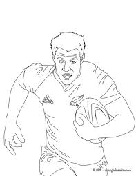 Coloriages Coloriage D Une M L E Au Rugby Fr Hellokids Com