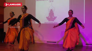 yoga dance show held at indian cultural center