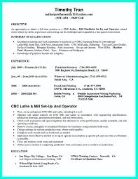 Grinder Sample Resumes Cnc Machinist Resumes Free Resume Templates Mill Sample Examples Sa 5