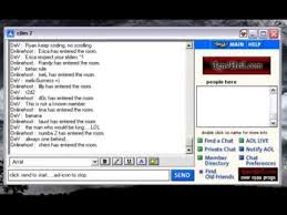 aim chat rooms for singles