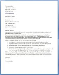 Project Manager Cover Letter Examples Resume Downloads Example