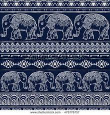 Elephant Pattern Extraordinary Baby Pattern Stock Images RoyaltyFree Images Vectors Shutterstock