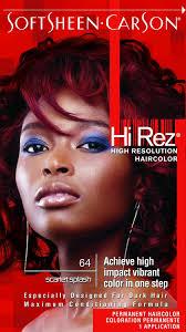 Buy Hi Rez High Resolution Hair Color 64 Scarlet Splash