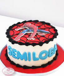 Spiderman Butter Cream Cake Dainty Affairs Bakery Cakes