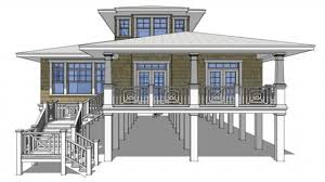 house plan beach floor plans on stilts ahscgscom cottage raised