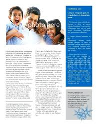 Winter Newsletter Template Templates Free