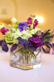 traditional purple lime green wedding centerpiece utah wedding flowers  calie rose