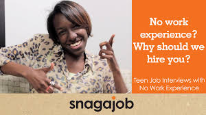 No Work Experience Why Should We Hire You Teen Job Interviews