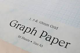 Details About A3 Single Sided 120gsm Smooth Graph Paper 1mm 5mm 10mm Squared Grid Printable