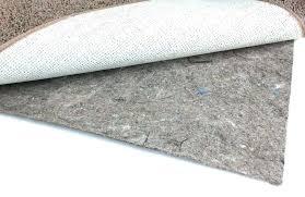 felt rug pads for hardwood floors duo lock felt and rubber non slip felt rug pad
