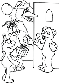 Coloring Pages Sesame Street Lapavoni