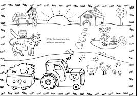 Farm Worksheets For Preschoolers Pet Farm Wild Animals Worksheet For ...