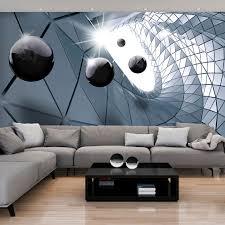 Cool 3d Tapete Wohnzimmer Mit Vlies Fototapete 3d Kugeln Tapete