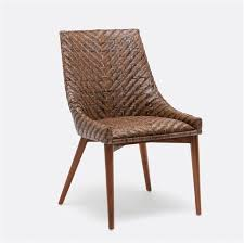 woven dining room chairs woven rattan dining chair me gardens
