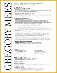 Sample Resume Sports Journalism Resume Ixiplay Free Resume Samples