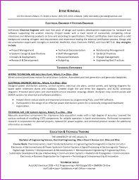 Electrical Engineer Resume Sample electrical engineering resume format Josemulinohouseco 35