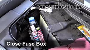 replace a fuse 2006 2010 infiniti m35 2008 infiniti m35 3 5l v6 6 replace cover secure the cover and test component