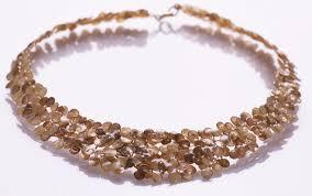 smadar edri gold color enamel handmade collar necklace israeli jewelry