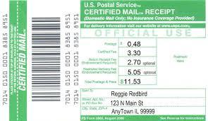 Best Photos Of Us Postal Certified Return Receipt Usps Certified