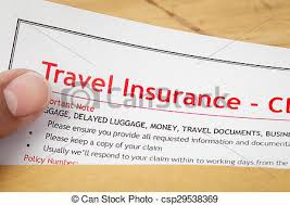 Mock Application Form Travel Insurance Claim Application Form And Human Hand On Brown Envelope Business Insurance And Risk Concept Document Is Mock Up