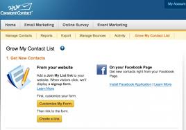 constant contact signup form signup form constant contact