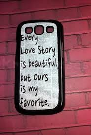 Samsung Quote Interesting Buy Samsung Galaxy S48 Case Love Story Quote Galaxy S48 Cover