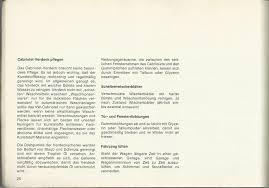 Thesambacom 1972 Owners Manual Part 2 German