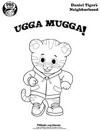 Small Picture Ugga Mugga Daniel Tiger coloring page wqed pbskids Daniel