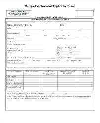 Free Job Applications Basic Job Application Template Pdf
