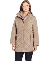 Spectacular Deal on Calvin Klein Women's Plus-Size Classic Quilted ... & Calvin Klein Women's Plus-Size Classic Quilted Jacket with Side Tabs, Tawny  Owl, Adamdwight.com