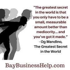 Og Mandinio The Greatest Secret In The World Motivational Adorable Og Mandino Quotes